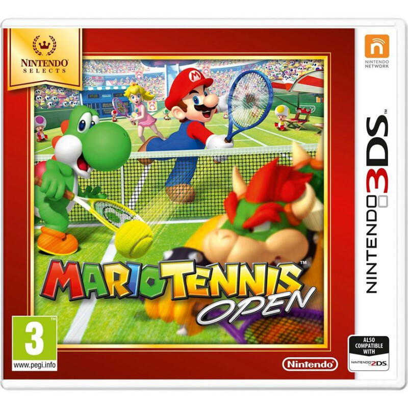 Mario Tennis Open (3DS) Nintendo - 1