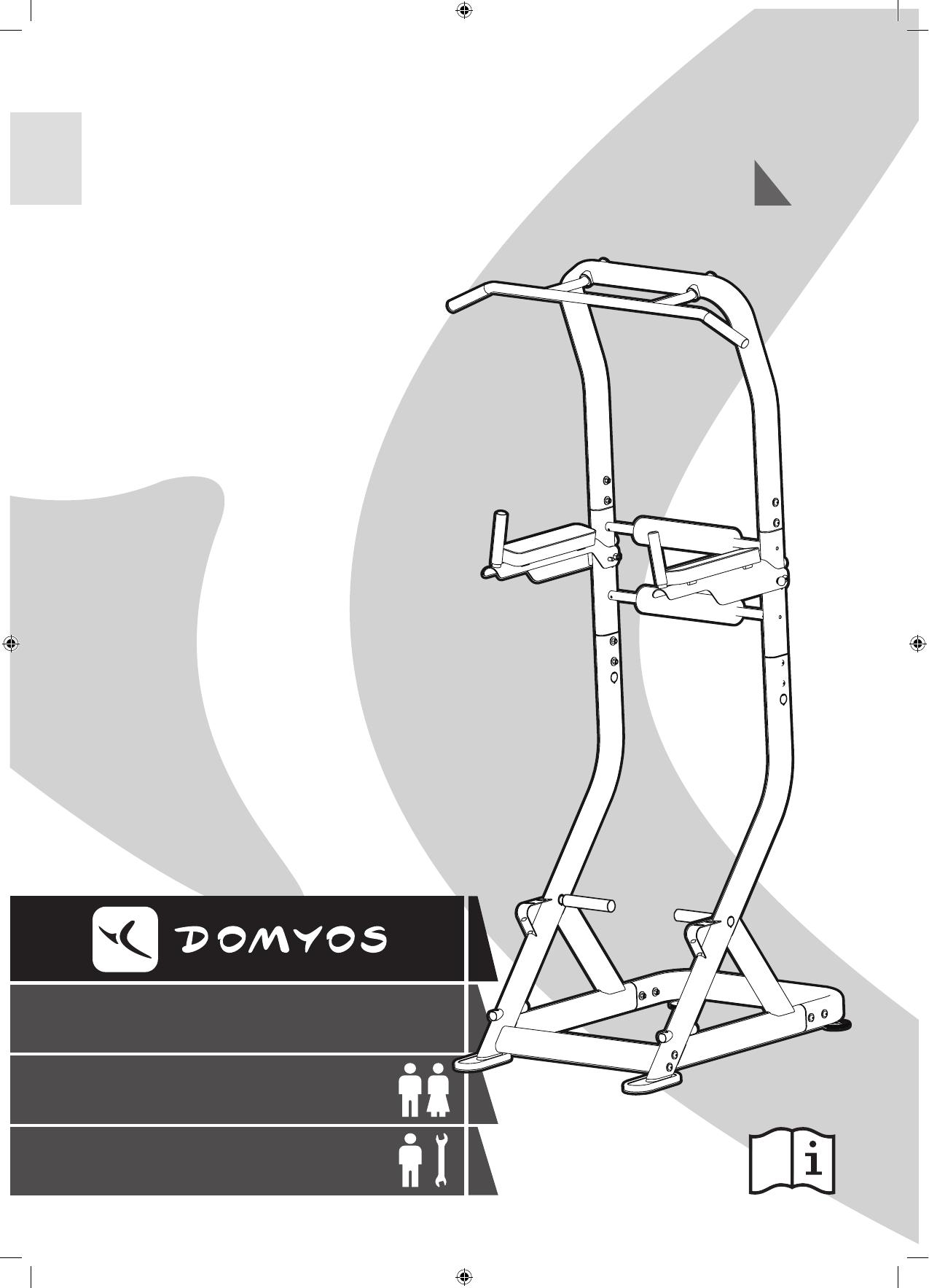 Petunjuk Ds Compact Domyos 17 Halaman